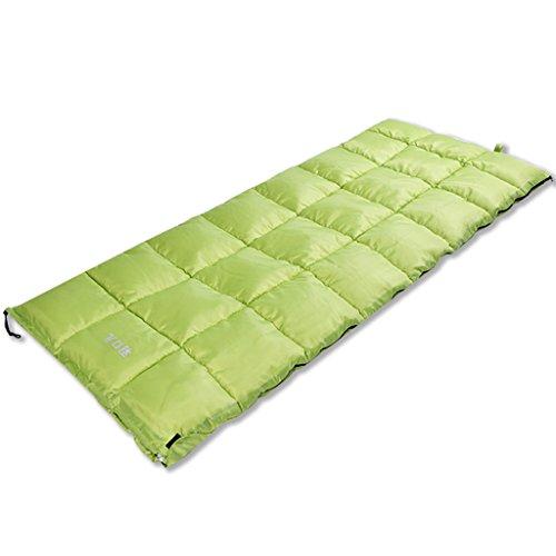 Guo Doux sacs de couchage extérieur plus épais flanelle élargie adulte sac de couchage camping