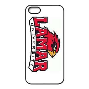 NCAA La Salle Explorers Black Phone Case for iPhone 5S