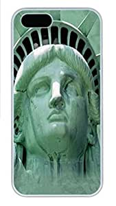 For Ipod Touch 5 Phone Case Cover Statue of Liberty Head PC Hard Plastic For Ipod Touch 5 Phone Case Cover Whtie