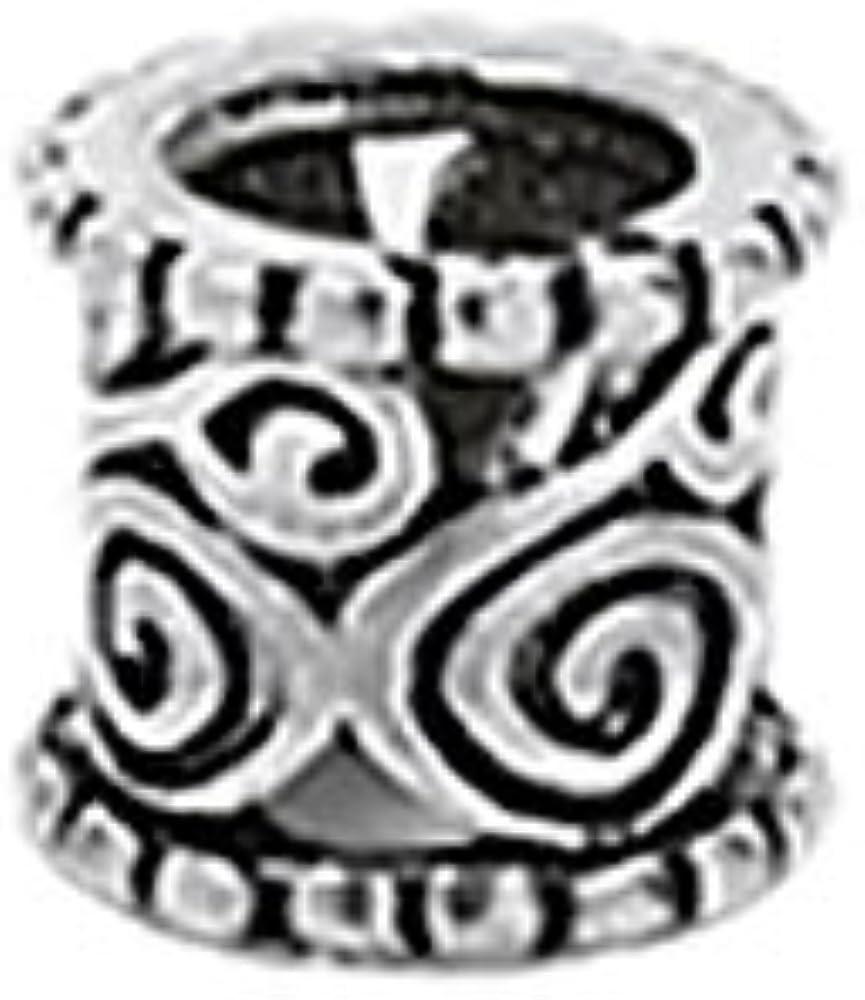 NKlaus 925 STERLINGSILVER Perle barbue gothique celtique ornement de cheveux Idunaklein 7145
