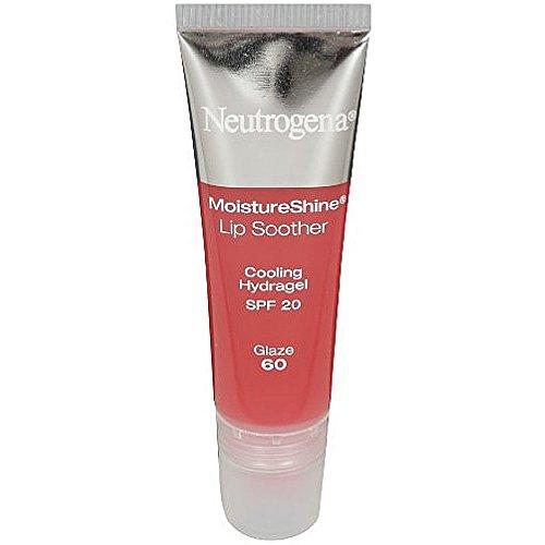 Neutrogena Moistureshine Lip Soother Gloss, Spf 20, Glaze 60.35 Oz (Pack of 2)