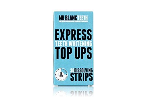 Mr Blanc Teeth ™ EXPRESS Teeth Whitening Strips - 2 Week Supply - Professional Teeth Whitening - Enamel Safe - Non Peroxide