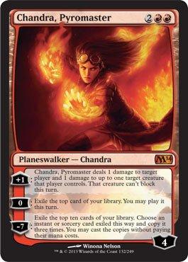 Magic The Gathering - Chandra, Pyromaster (132/249) - Magic 2014