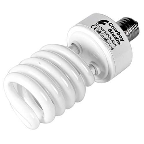 cowboystudio-45w-compact-fluorescent-cfl-daylight-balanced-bulb-with-5500k-color-temperature-for-pho