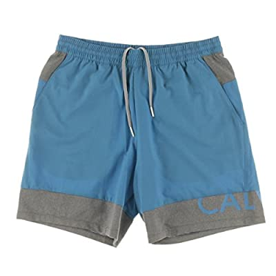 Calvin Klein Performance Mens Drawstring Contrast Trim Shorts