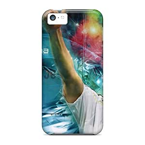 KZPgJlJ2305ydHAC Saraumes Awesome Case Cover Compatible With Iphone 5c - The Best Football Player Of Real Madrid Karim Benzema