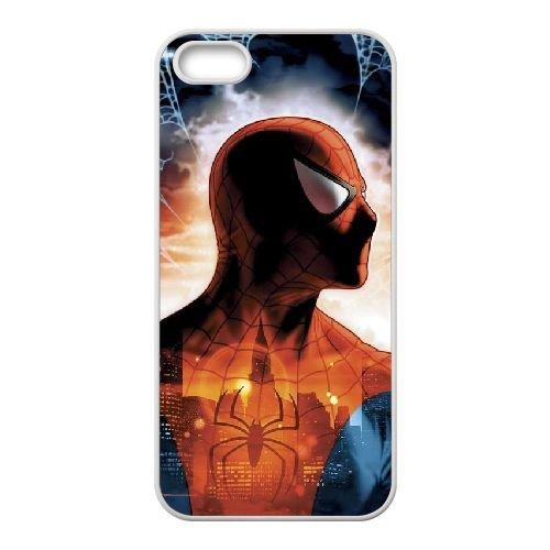 Pictures Of Spiderman 002 coque iPhone 4 4S Housse Blanc téléphone portable couverture de cas coque EEEXLKNBC18923