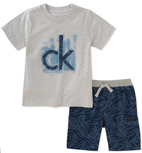Calvin Klein Baby Boys 2 Pieces Short Set