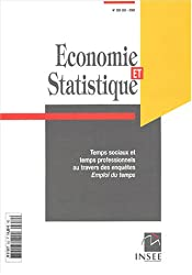 Economie et statistique, N° 352-353/2002 : Temps sociaux et temps professionnel au travers des enquêtes Emploi du temps