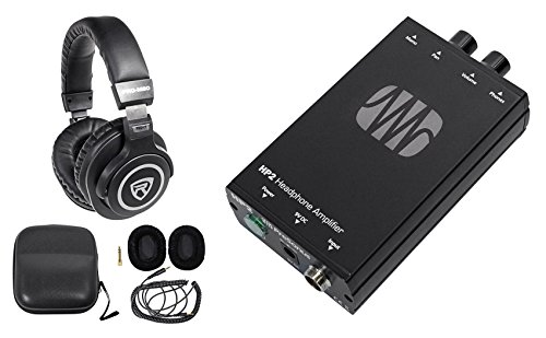Presonus HP2 2 Channel Stereo Headphone Amplifier System HP-2+Free Headphones ! by PreSonus