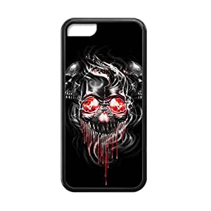 Fashion Horrible Cool Skull Phone Case for iPhone 5c