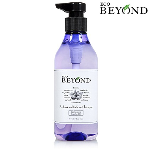 Moisturizing Oily Hair Shampoo - Eco Beyond Scalp Shampoo for Oily Hair, Natural Strengthener for Hair Loss & Itchy Scalp - Volumizing Moisturizing Treatment [No Paraben] 15.22 oz