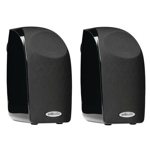 Polk Audio 2X TL1 100W Satellite Speaker, 120Hz-20kHz, Black
