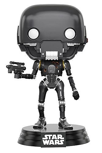 Funko Pop Star Wars-Battle Damaged K-2SO Fall Convention Exclusive Collectible Figure