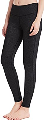 Oalka Women Power Flex Yoga Pants Workout Running Leggings