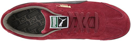 Puma Herren Roma Herrenschuhe Red Dahlia/Dark Shadow/Puma White/Rock Rid