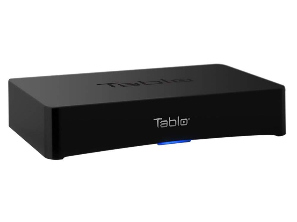 Tablo 4-Tuner Digital Video Recorder [DVR] for Over-The-Air [OTA] HDTV with Wi-Fi for Live TV Streaming, 1 Year Manufacturer Warranty(Renewed)