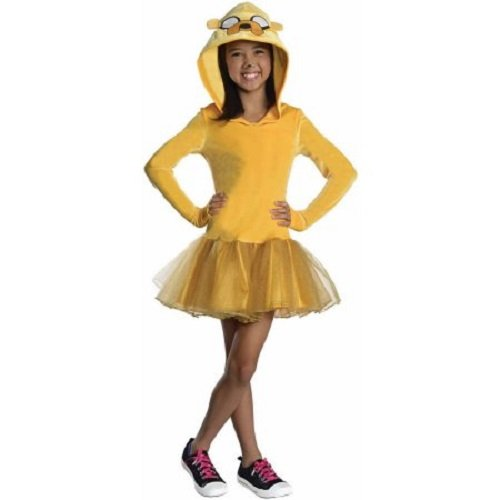 Adventure Time Jake Girl Child Halloween Costume New -