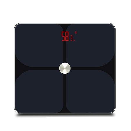 Vidrio Templado Peso Corporal Digital Báscula de baño Grasa ...