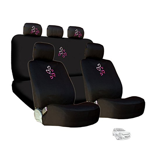 heart car seat covers civic - 3