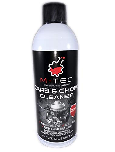 M-Tec Carb and Choke Cleaner- 12 oz 12 Pack Case (Best Carb Cleaner For Snowblower)