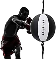 Punch Bag, Speed Ball Boxing Ball Training Fitness Ball Punch Bag Hanging Ropes