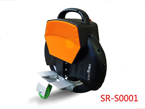 Discover Bargain Step-N-Roll One Wheel Self Balancing Electric Unicycle Uni-Wheel Scooter with Train...