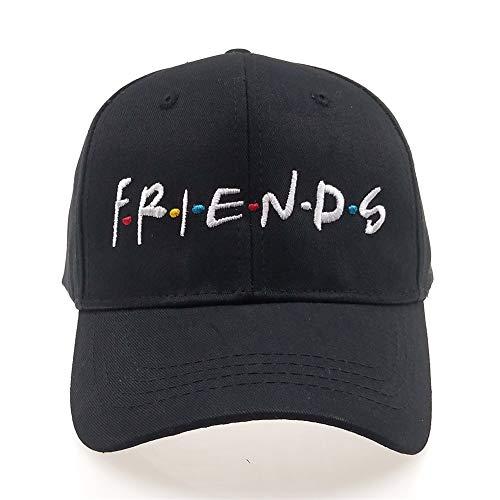 Chensheng Friends Hat,Dad Hat,Embroidered Baseball Cap,Unisex Hat,Cotton Adjustable Black