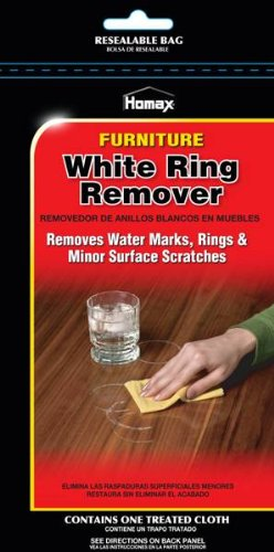 Homax Group 2236 Furniture White Ring Remover Cloth, 7in. X 11in