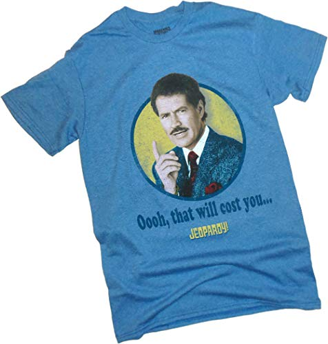 JEOPARDY, That Will Cost You Distressed Print, Adult T-Shirt, X-Large