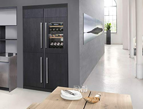 Liebherr HW3000 24 Inch Built-In Dual Zone Wine Cooler with 30 Bottle Capacity, in Panel Ready by Liebherr Products (Image #2)