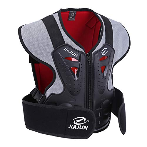 - JIAJUN Children's Motorcycle Body Armor Street Bike Chest Protect Off Road Bike Cycling Skiing Riding Skateboarding
