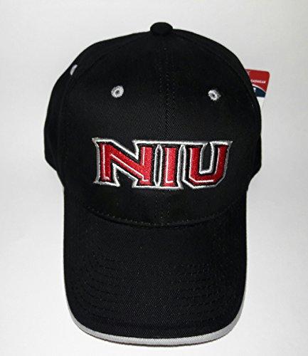 Illinois Buckle - NIU Northern Illinois Huskies Adjustable Buckle Hat 3D Embroidered Cap