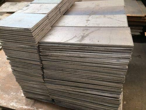 """1//8/"""" .125 HRO Steel Sheet Plate 12/"""" x 12/"""" Flat Bar A36"""