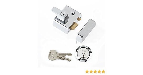 Yale Locks P2 Visi Pack - Cerrojo con pestillo de Doble Seguridad (4 cm), Color Cromado [Importado de Reino Unido]: Amazon.es: Bricolaje y herramientas