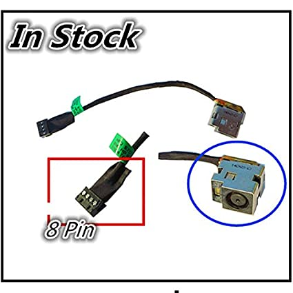Cable Length: Buy 5 Piece ShineBear New for HP Pavilion G6 Series G6-2000 G7-2000 TPN-Q109 TPN-Q110 DC Jack Charging Cable DC Power Socket Connector Port