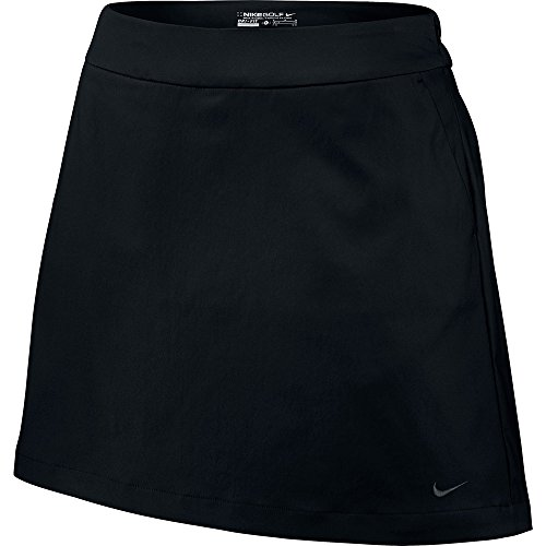 (Nike Golf Women's Tournament Skort (Black) 14)