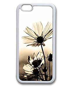 """iCustomonline Classic Flower TPU Case Cover Skin For iPhone 6 4.7"""""""