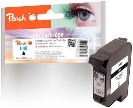 Peach Print-Head Black, Compatible with Xerox, HP 51640AE, no.40 ...