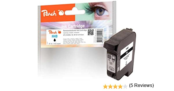 Peach Print-Head Black, Compatible with Xerox, HP 51640AE, no.40: Amazon.es: Oficina y papelería