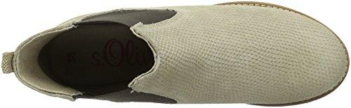 s.Oliver Damen 25335 Chelsea Boots Braun (PEPPER SNAKE 329)