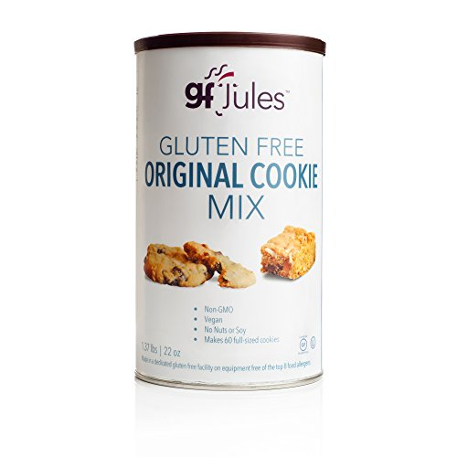 gfJules Gluten Free Cookie Mix - Voted #1 by GF Consumers 1.37 lbs, Pack of 1