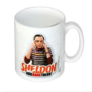 """Taza """"The Big Bang Theory/La teoría del Big Bang"""" Sheldon"""