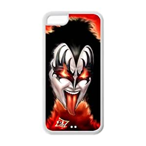 SevenArc? Phone Cover iPhone 5C Case Strong rock and heavy metal Band Kiss Paul Stanley