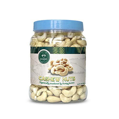 (DK Harvest Extra Large Whole Cashews Raw, 16 Oz./ 1lb Gourmet Jar)