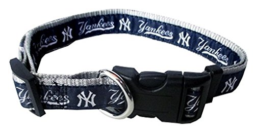 Pets First MLB NEW YORK YANKEES Dog Collar, X-Large