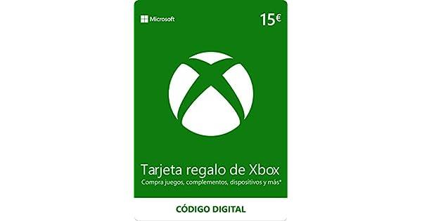 Xbox Live - 15 EUR Tarjeta Regalo [Xbox Live Código Digital ...