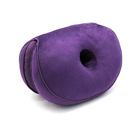 La Almohada Plegable de cojin de Asiento de Cadera de Felpa Multifuncional HOSD se Puede Usar para Uso Doble