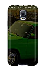 Awesome Case Cover/galaxy S5 Defender Case Cover(cool Green Vintage Car Wide Screen Desktop)