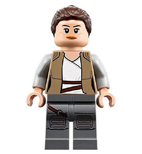 LEGO Star Wars: The Last Jedi - Rey Minifigure with Lightsaber (2018)